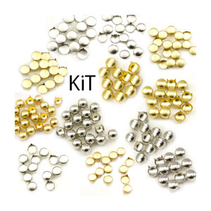 600 Piece Assorted Stud Refill Kit for Bedazzler