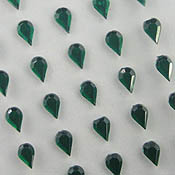 Stick On Teardrop Gems 4x6mm