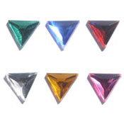 13mm Acrylic Triangle Jewels