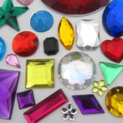Acrylic Gemstones