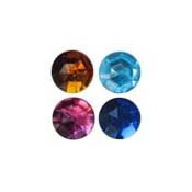 11mm Round Acrylic Jewels