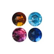 13mm Round Acrylic Jewels