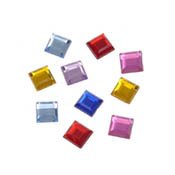 5mm Acrylic Square Jewels