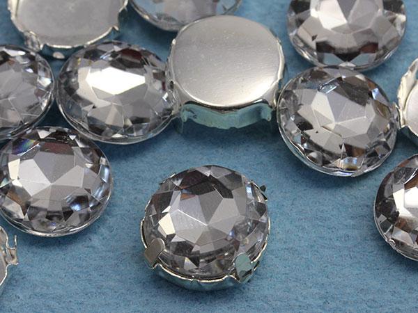 Fancy Gems in Crystal Sew-On