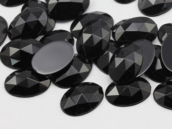 Black Oval Gems