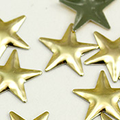 Star Iron On Studs