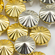 Cone studs for clothing