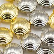 Spiral Fabric Studs
