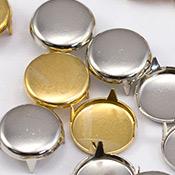 Gold & silver Spot Nailheads Studs