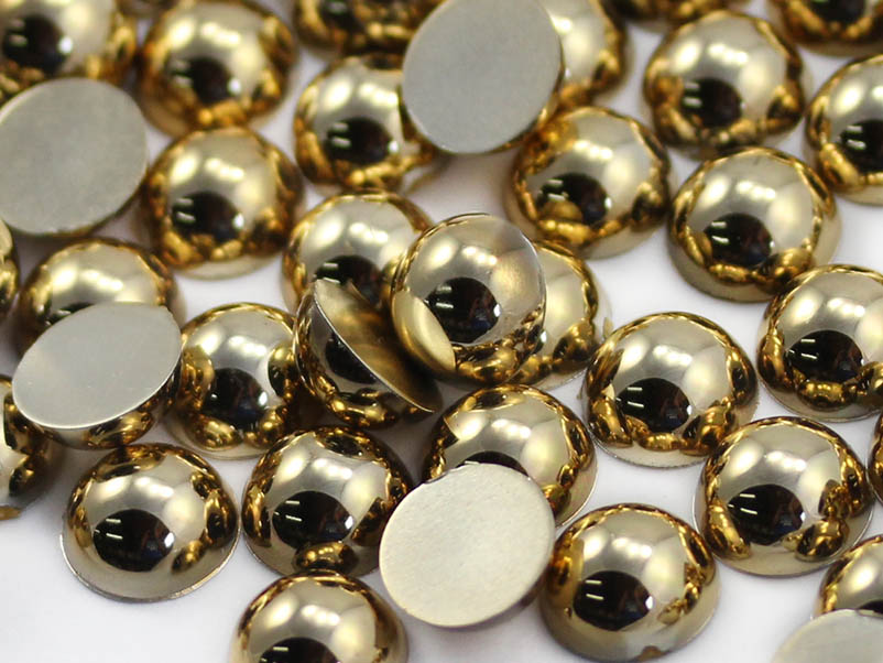 Gold Cabochons