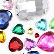 Heart Craft Stones