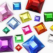 Square Craft Stones