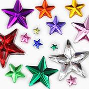 Flat Back Star Gems