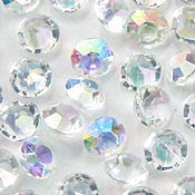 5mm AB acrylic scatter crystals