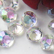 9mm AB acrylic table scatter crystals